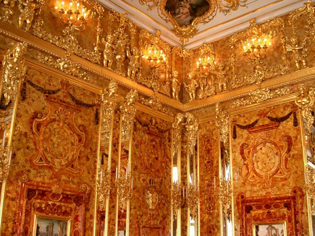 Amber Room, Czar Catherine's summer palace